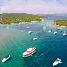 Private speedboat tour to Blue Lagoon Trogir Croatia