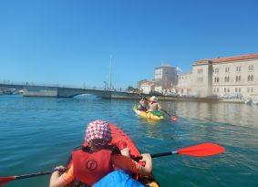Croatia cap trogir kayaking