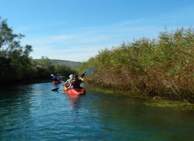 Sea kayaking around Trogir