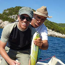 Poludnevni ribolov na Drveniku