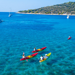 Extreme Dalmatia is a adventure for a groups