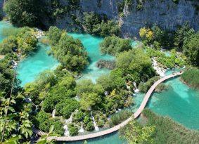 Plitvice-lakes