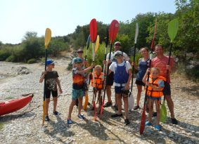 Sea Kayaking Blue Lagoon from Trogir