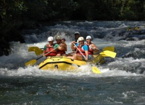 Rafting on River Cetina from Trogir