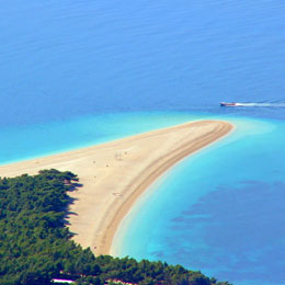 Island Brac and Bol by Speedboat