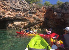 cave kayak Croatia
