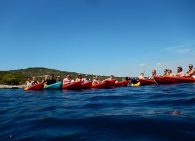 group kayak Croatia