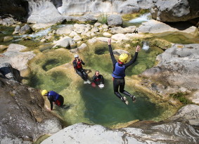 Canyoning on River Cetina from Trogir
