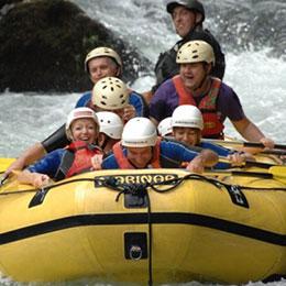 Rafting on river Cetina