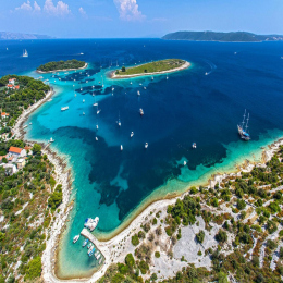 HVAR Island tour by speedboat from Trogir and Split Croatia