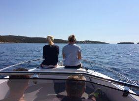 Speedboat half day tour to Blue Lagoon and Šolta Island